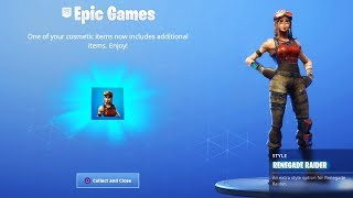 NEW FORTNITE UPDATE OUT NOW! NEW FREE SKIN IN FORTNITE! (FORTNITE BATTLE ROYALE)
