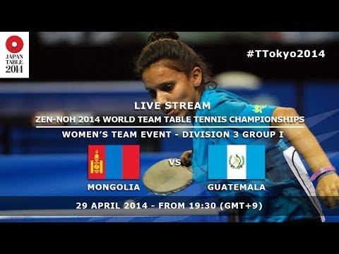 #TTokyo2014: Guatemala - Mongolia