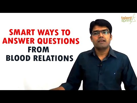 Smart Ways to Answer Questions from Blood Relations IBPS PO | SSC CGL | TalentSprint