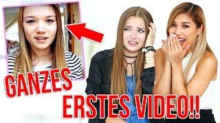 REAKTION ZU MEINEM KOMPLETTEN ERSTEN VIDEO  mit Kisu!  | Julia Beautx