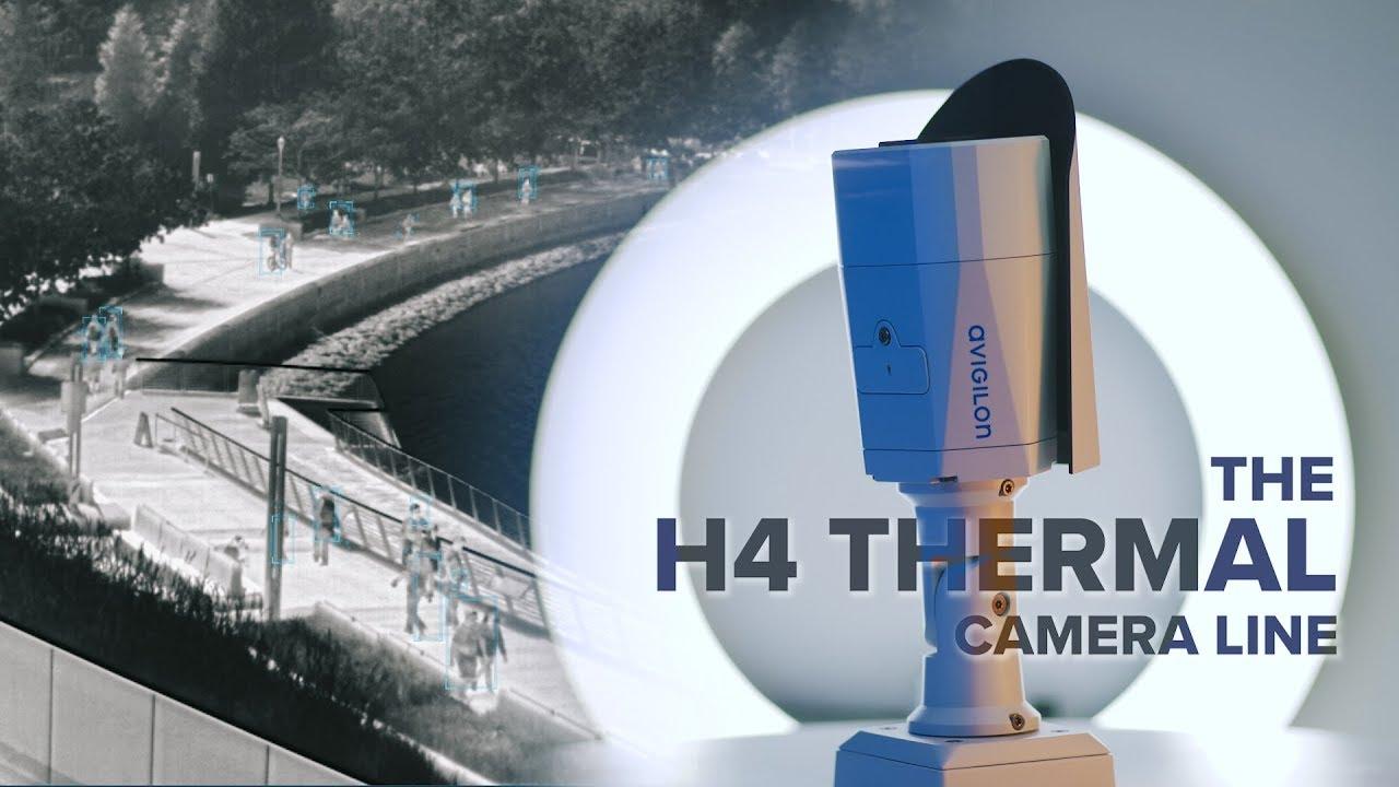 Gamme de caméras H4 Thermal