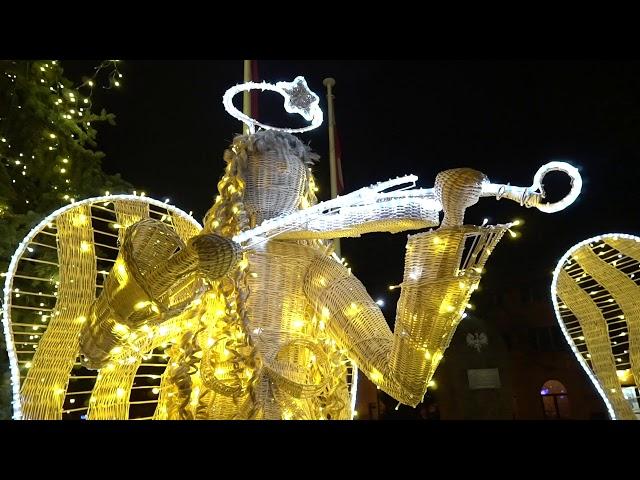Wiklinowe anioły w Rudniku nad Sanem