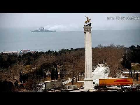 Корабли БПК Североморск и СКР Сметливый ушли из Севастополя узнав о  кораблях ВМС Турции в Одессе