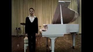 Василиса Прекрасная. Автор музыки Екатерина Гигевич. Исполняет Станкевич Анастасия.