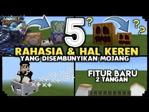 ✔ Ini Diaa! 5 RAHASIA & HAL KEREN di MCPE Yg Harus Kamu tau [] Minecraft PE 1.2