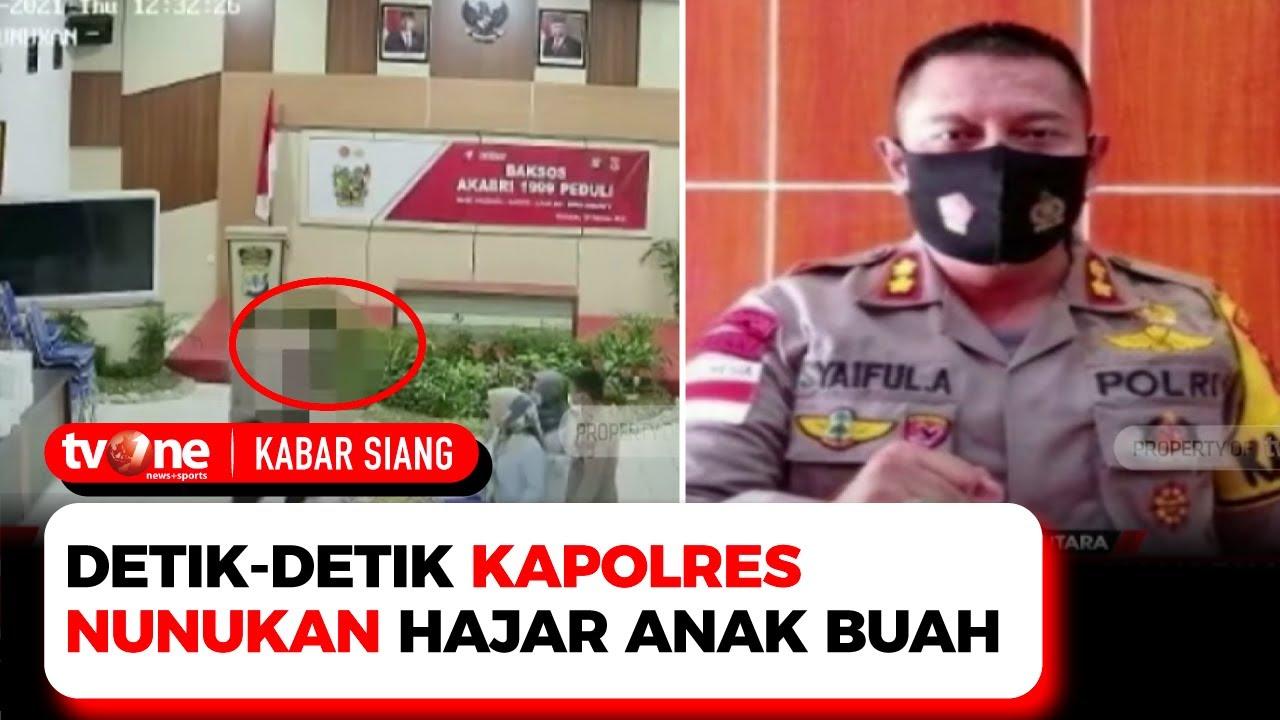 Download Pukul Anak Buah Kapolres Nunukan Dinonaktifkan, Korban Meminta Maaf | Kabar Siang tvOne