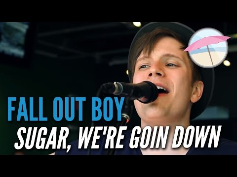Fall Out Boy - Sugar, We're Goin Down (Live at the Edge)
