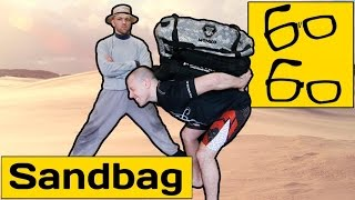 Упражнения с сэндбэгом от Андрея Басынина — функциональный тренинг для бойцов (sandbag workout)