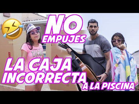 NO EMPUJES LA CAJA INCORRECTA A LA PISCINA - Susy