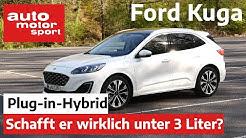 Ford Kuga Plug-in-Hybrid: Wirklich unter 3 Liter Verbrauch? - Review I auto motor und sport