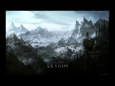 TES V Skyrim Soundtrack - Out of the Cold