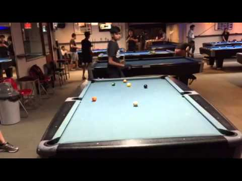 how to sink the 9 ball on the break