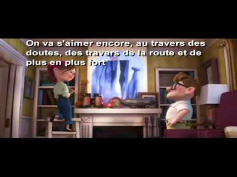Karaoké - Vincent Vallière - On Va S'aimer Encore (PIXAR & LYRICS).mov