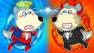 Download lagu 🔴 LIVE | Spiderman Wolfoo Defeats Black Spiderman - Wolfoo Pretend Play Superhero