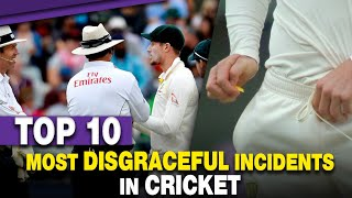 Top 10 Most disgraceful incidents in cricket | Simbly Chumma