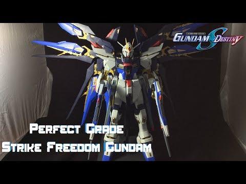 Perfect Grade Strike Freedom Gundam Review