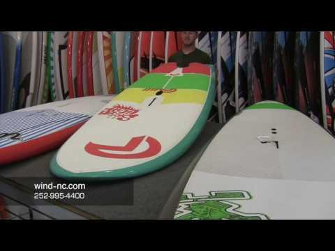 Light Wind Windsurfing Wave Board Options