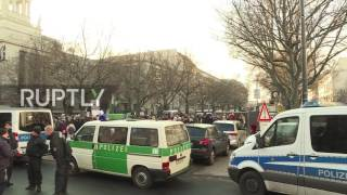 Germany  Protest held outside Russian embassy in Berlin