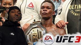 UFC 3 Israel Adesanya Practice Makes Perfect