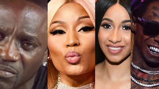 Akon CAUGHT SLIPPIN, Nicki Minaj Mom Speaks out, Lil Wayne married? Cardi b goes wild keeps it 100