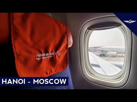 TRIP REPORT   Aeroflot (ECONOMY)   Hanoi - Moscow Sheremetyevo   Boeing 777