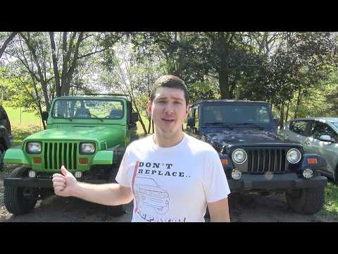 TJ vs YJ The Two Best Jeeps Ever Made (Fast Friday)