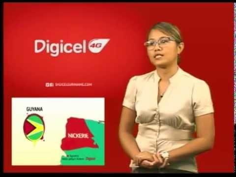 02 April 2015   De telecom provider Digicel biedt haar klanten in Nickerie sedert 5 maart 2015 de ge