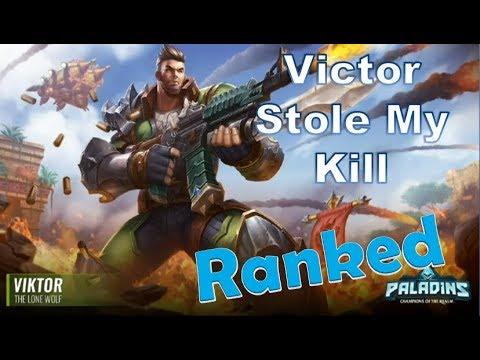 metà prezzo per tutta la famiglia ma non volgare Paladins Ranked Viktor Lvl 189 Gameplay | Viktor Stole My Kill