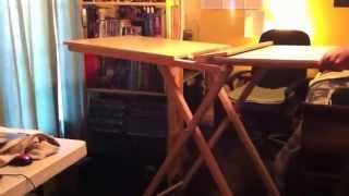 Michael Frazier Designs - How To Raise Your Side Bar Table