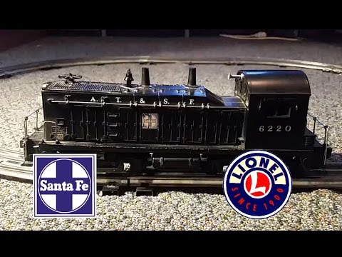 "Lionel 6220 Santa Fe ""Bell Ringer"" NW-2 Diesel Switcher"