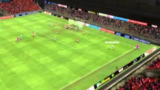Silkeborg IF-OB - Kirkeskov mål 16 minutter