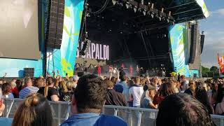 Lewis Capaldi FOREVER live Belsonic