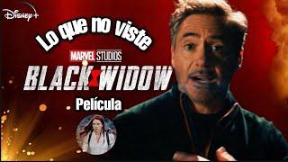 BLACK WIDOW | Lo que no viste Referencias | Easter Eggs por Tony Stark