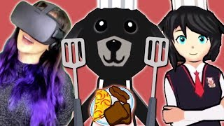 I'm A CAT Cooking for ANIME DOG GIRLS in VR!! ...Don't Ask, Just Click