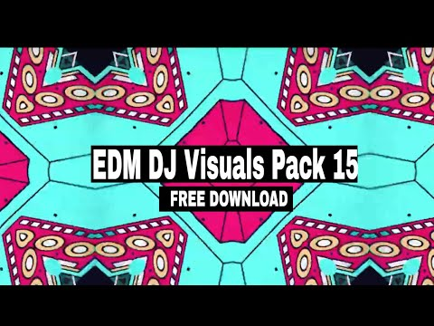 Download 2021 Free EDM Visuals Pack || EDM VJ Loops 15 Free ...
