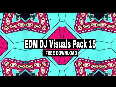 Download 2021 Free EDM Visuals Pack || EDM VJ Loops 15 Free ...