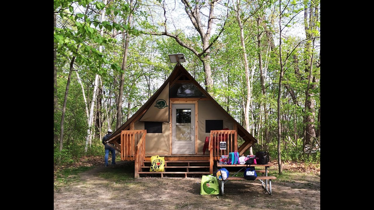 & Camping at oTENTik  Thousand islands - YouTube