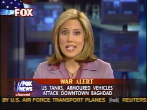 News - Iraq War - Part 1 - Tape 1 - Entering Baghdad - 5-6 Apr 2003 - FOX