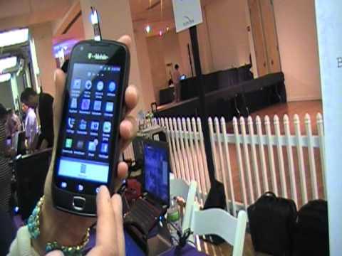 Samsung Exhibit 4G Demo