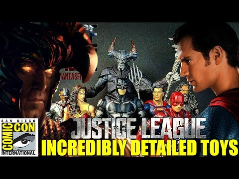 Incredibly Detailed Justice League Movie Toys! SDCC 2017 Preview Day!