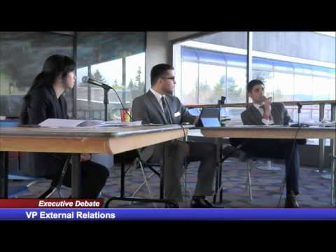 SFSS Elections 2014 - Executive Debate