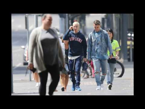 Justin Bieber & Josh Mehl - Strollin' Through Melbourne, Australia - Photo Comp - March 11, 2017