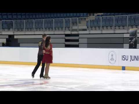 2015 ISU Junior Grand Prix Bratislava Free Dance Anastasia TKACHEVA / Vadim DAVIDOVICH