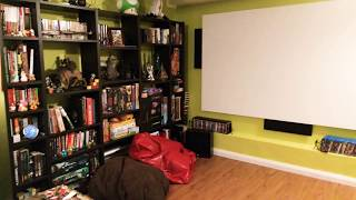 Small home theatre and games r…