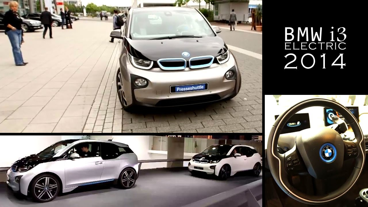 2014 Bmw I3 Electric Review And Road Test Bmw Electric Car Youtube
