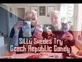 Silly Swedes Try Czech Republic Candy - Conspiracy Chocolate?