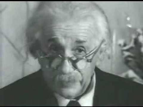 Albert Einstein  Original Footage