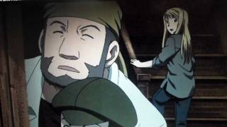Fullmetal Alchemist Brotherhood - Funny Moment (Ed eating in Winry