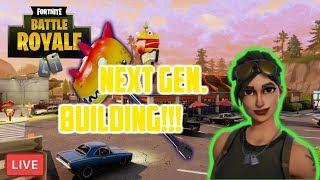 [FORTNITE PS4] Next Gen(eration) Building??? Ft. Noob Squad