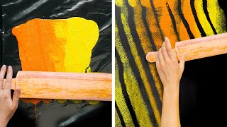 29 GENIUS WAYS TO DECORATE YOUR HOME | AWESOME WALL PAINTING TRICKS!